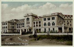 Mozambique, LOURENÇO MARQUES, Polonia Hotel (1930s) Postcard - Mozambique