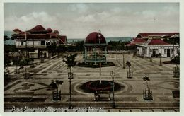 Mozambique, LOURENÇO MARQUES, Praca Mousioho D'Albuquerque (1930s) Postcard - Mozambique