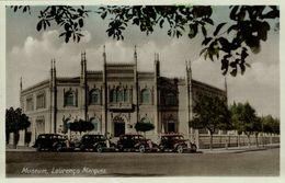 Mozambique, LOURENÇO MARQUES, Museum, Car (1930s) Postcard - Mozambique