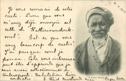South Africa, Old Native Cape Malay Man (1902) Postcard - South Africa