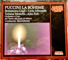 PUCCINI, LA BOHEME. Scala De Milan 1938. 2 CDs. Frequenz 1995. - Opera