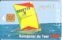 MARTINICA - Yole Voile, First Chip Issue, 10/00, Used - Antilles (French)
