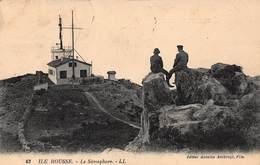 CPA ILE ROUSSE - Le Sémaphore - Other Municipalities