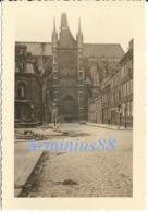 Campagne De France 1940 - Amiens - Cathédrale Notre-Dame, Portail Sud - Wehrmacht Im Vormarsch - Westfeldzug - Guerra, Militari