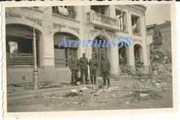 Campagne De France 1940 - Épicerie Fine Détruite à Amiens? Breteuil? Ou Rethel? - Wehrmacht Im Vormarsch - Westfeldzug - War, Military