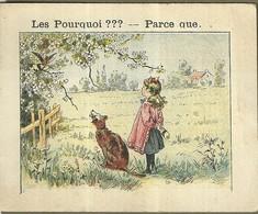"1413 "" LES POURQUOI ??? ..... PARCE QUE ..... "" FIGURINA DIDATTICA FRANCESE  ORIGINALE - Libri, Riviste, Fumetti"