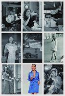 DIANA RIGG - Film Star Pin Up PHOTO POSTCARD - Pack 9 - Mujeres Famosas