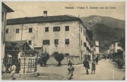 Paluzza . - Piazza S. Giacomo Con Via Centa. - Udine