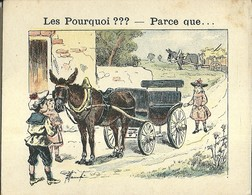 "1419 "" LES POURQUOI ??? ..... PARCE QUE ..... "" FIGURINA DIDATTICA FRANCESE  ORIGINALE - Libri, Riviste, Fumetti"