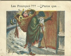 "1420 "" LES POURQUOI ??? ..... PARCE QUE ..... "" FIGURINA DIDATTICA FRANCESE  ORIGINALE - Libri, Riviste, Fumetti"
