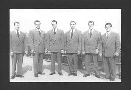 SPORTS - HALTÉROPHILIE - LUTTEUR - LES FRÈRES BAILLARGEON DE ST MAGLOIRE QC. PHOTOGRAPHIÉ À WELLAND ON. EN 1947 - Lutte