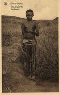 Ruanda-Urundi, Young Mututsi Girl (1920s) Postcard - Rwanda