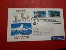 Les États-Unis FDC Une Expédition Arctique - Expéditions Arctiques