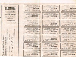 Obligatiunea - Municipiul Bucuresti - Titre De 1932 - A - C