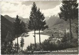 W14 Auronzo Di Cadore (Belluno) - Panorama Verso Le Tre Cime Di Lavaredo / Viaggiata 1957 - Italia