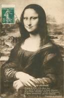 CPA LA  JOCONDE - Peintures & Tableaux