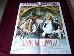 POSTER ROCK  DE MADONNA  DU FILM  Shanghai Surprise 440 X 540 Mm - Affiches & Posters