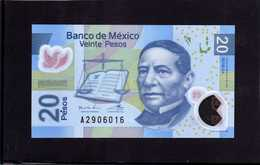 MEXICO. Bankanote 20 Pesos UNC 2016 Polymer - Mexico
