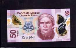 MEXICO. Bankanote 50 Pesos UNC 2012 Polymer - Mexique