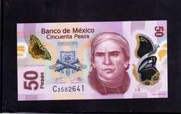 MEXICO. Bankanote 50 Pesos UNC 2012 Polymer - Mexico