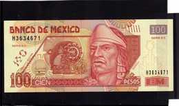 MEXICO. Bankanote 100 Pesos UNC 2008 - Mexico