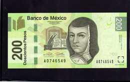MEXICO. Bankanote 200 Pesos UNC 2014 - Mexico