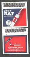 PAKISTAN MATCHBOX BAT, BALL CRICKET - Boites D'allumettes
