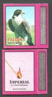 PAKISTAN MATCHBOX FALCON , BIRD - Matchboxes