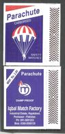 PAKISTAN MATCHBOX PARACHUTE RS 2 - Matchboxes