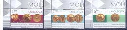 2018. Moldova, Coins, Ancient Treasures, 3v, Mint/** - Moldavia