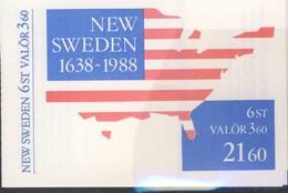SUEDE CARNET 1988 NEW SWEDEN-ESPACE-CARTE Yvert N°C1458 NEUF MNH** - Autres - Amérique