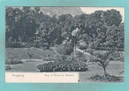 Old Post Card Of Botanical Gardens,Hong Kong,S64. - China (Hong Kong)