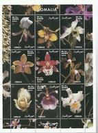 SOMALIA 2002   ** MNH   FLORES ORQUIDEAS - Orchidées
