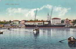 Zadar Zara - Riva Vecchia , Ship Galatea Oe Lloyd Trieste - Croatie