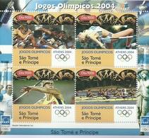 SANTO TOME Y PRINCIPE    ** MNH  JUEGOS OLIMPICOS ATENAS 2004 - Sommer 2004: Athen
