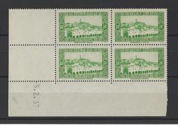 ALGERIE . YT  109  Neuf **  Ghardaïa. Coin Daté 1937 - Algérie (1924-1962)
