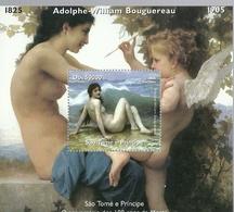 SANTO TOME Y PRINCIPE   2005 ** MNH   DESNUDO BOUGUEREAU - Aktmalerei
