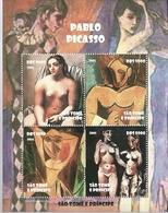 SANTO TOME Y PRINCIPE   2005 ** MNH   DESNUDO PICASSO - Nudes