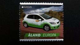 Aland 376 **/mnh, EUROPA/CEPT 2013, Postfahrzeuge - Aland