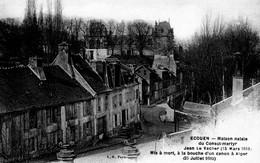 """CPA - 95 - ECOUEN - Maison Natale Du Consul-Martyr """"Jean Le Vacher"""" - Etat Superbe - Ecouen"""