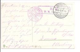 WO1 Feldpost. Zensur. Borkum - 1. Weltkrieg