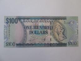 Guyana 100 Dollars 2016 Banknote UNC - Guyana