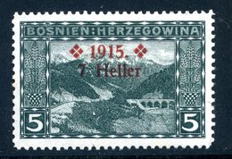 Bosnien-Herz. Mi. 91 A (L 12 1/2) Falz - Bosnien-Herzegowina