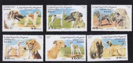 Sahara1996 Dog Chien MNH 6V - Africa (Other)