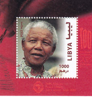 Libya New Issue 2018, For Nelson Mandella Souvenir Sheet Issued Only MNH- SKRILL PAYMENT  ONLY - Libië