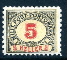 Bosnien-Herz. PORTO Mi. 5 MISCHZÄHNUNG (L 10 1/2:L 9 1/4) Falz - Bosnia And Herzegovina