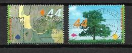 2007 Netherlands Complete Set Trees In Summer Used/gebruikt/oblitere - Periode 1980-... (Beatrix)