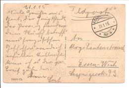 WO1 Feldpost. Pkt Wien Praterstern - 1. Weltkrieg