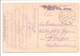 WO1 Feldpost. Pkt  Künstlerkarte E.Walter 1916 - 1. Weltkrieg