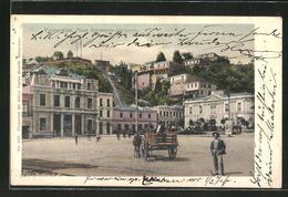 AK Valparaiso, Plaza Sotomayor Con Correo - Chile